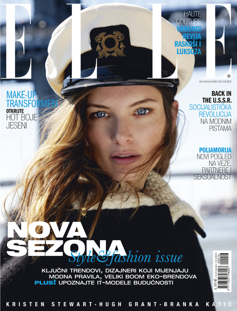 ELLE Croatia September blue