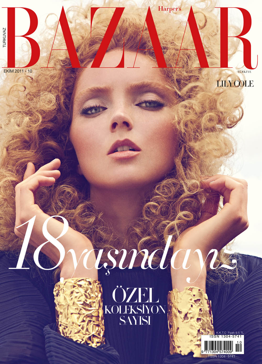 LILY COLE FOR HARPER'S BAZAAR
