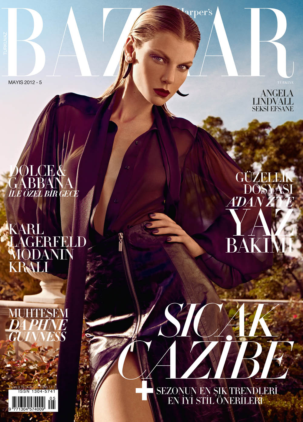 ANGELA LINDVALL FOR HARPER'S BAZAAR