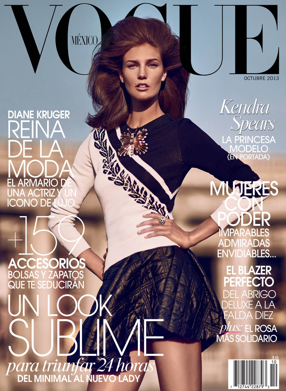 KENDRA SPEARS FOR VOGUE MEXICO