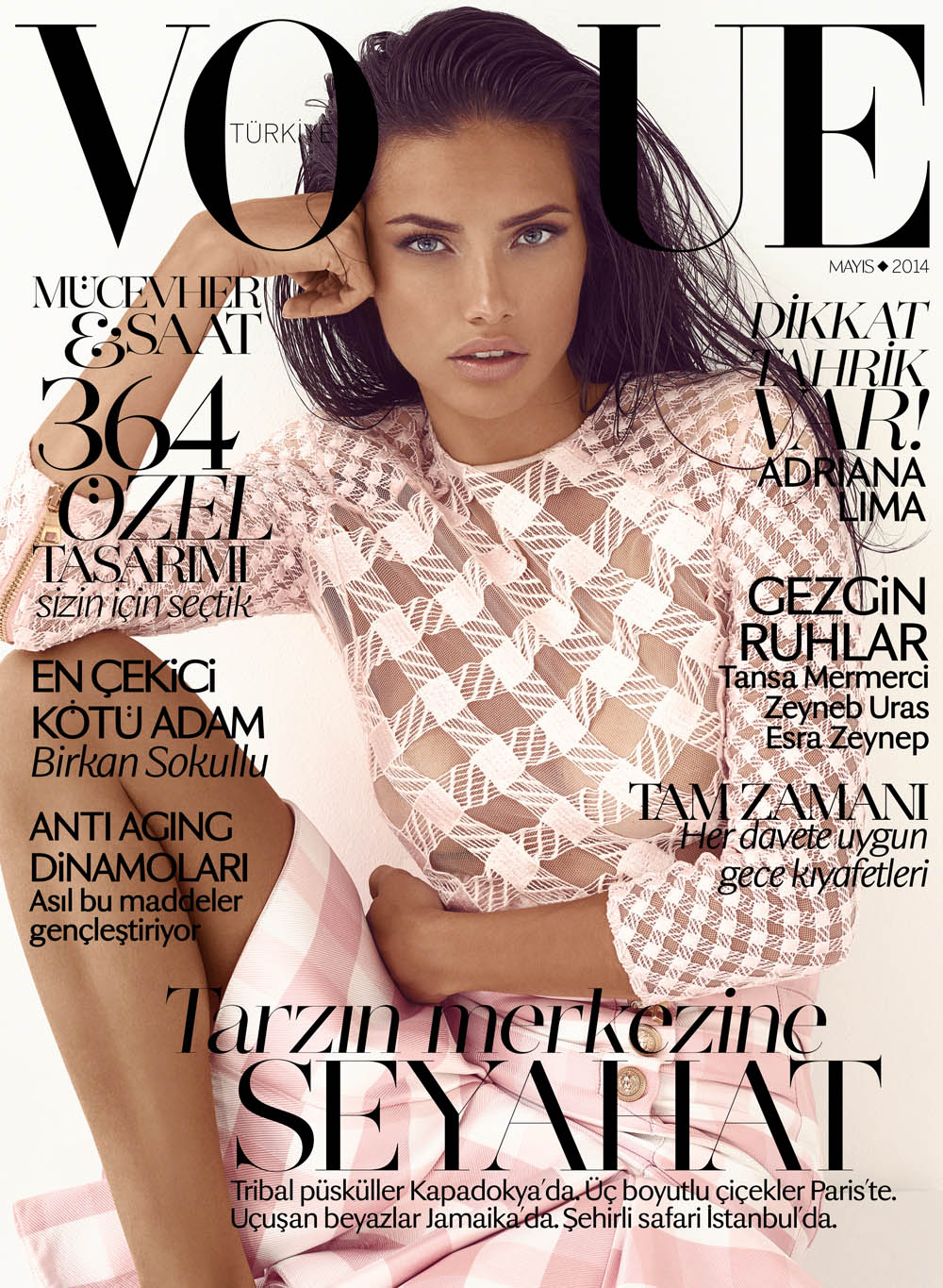 ADRIANA LIMA FOR VOGUE TURKEY