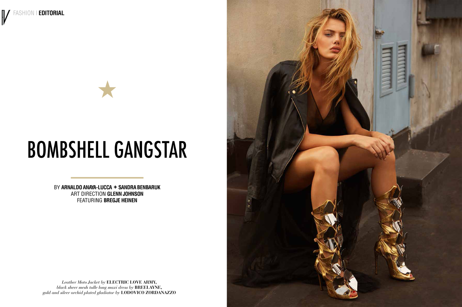 BREGJE HEINEN  FOR FASHION MAGAZINE