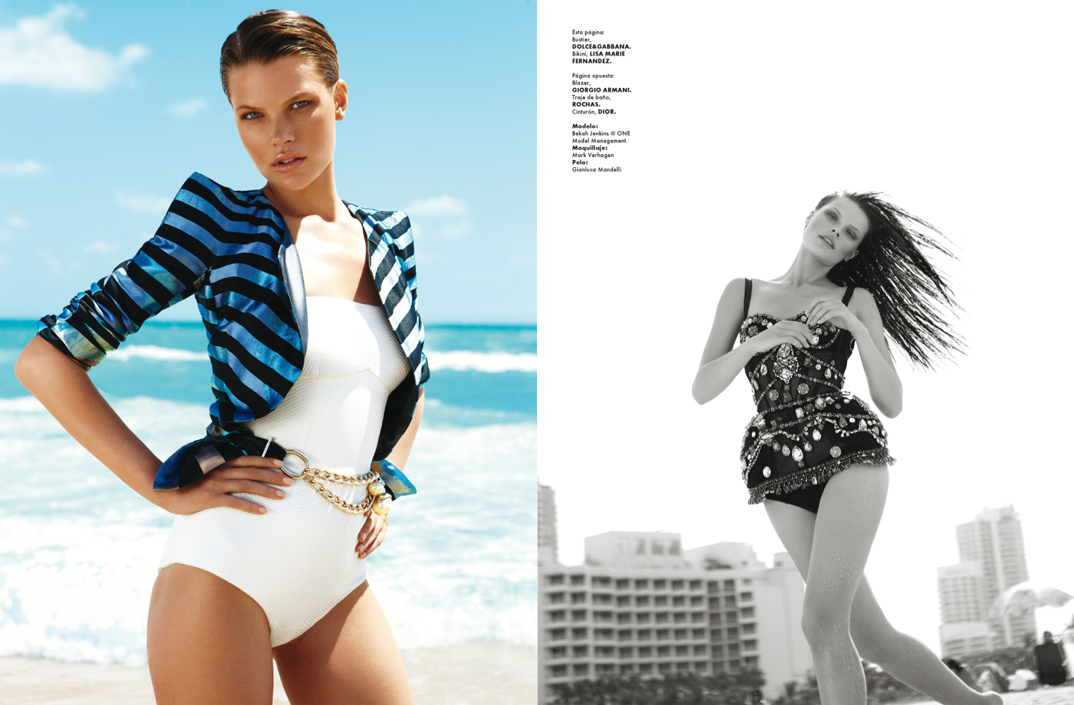 BEACH FANTASTIQUE FOR ELLE MEXICO