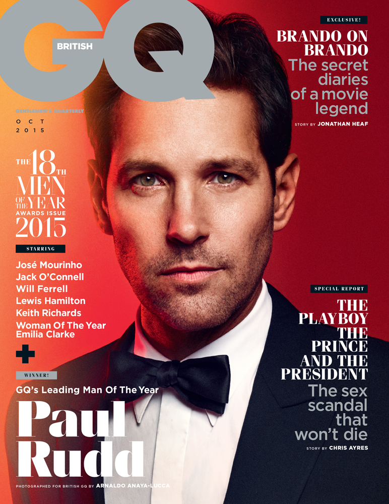 PAUL RUDD FOR GQ