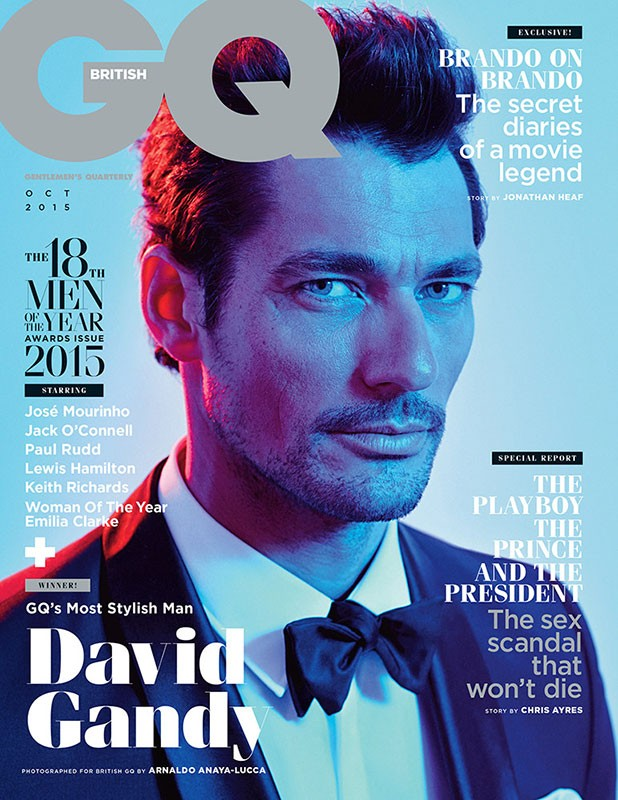 DAVID GANDY FOR GQ