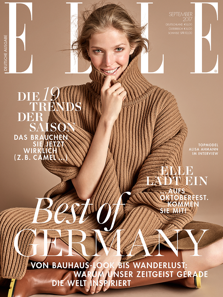 ALISA AHMANN FOR ELLE GERMANY