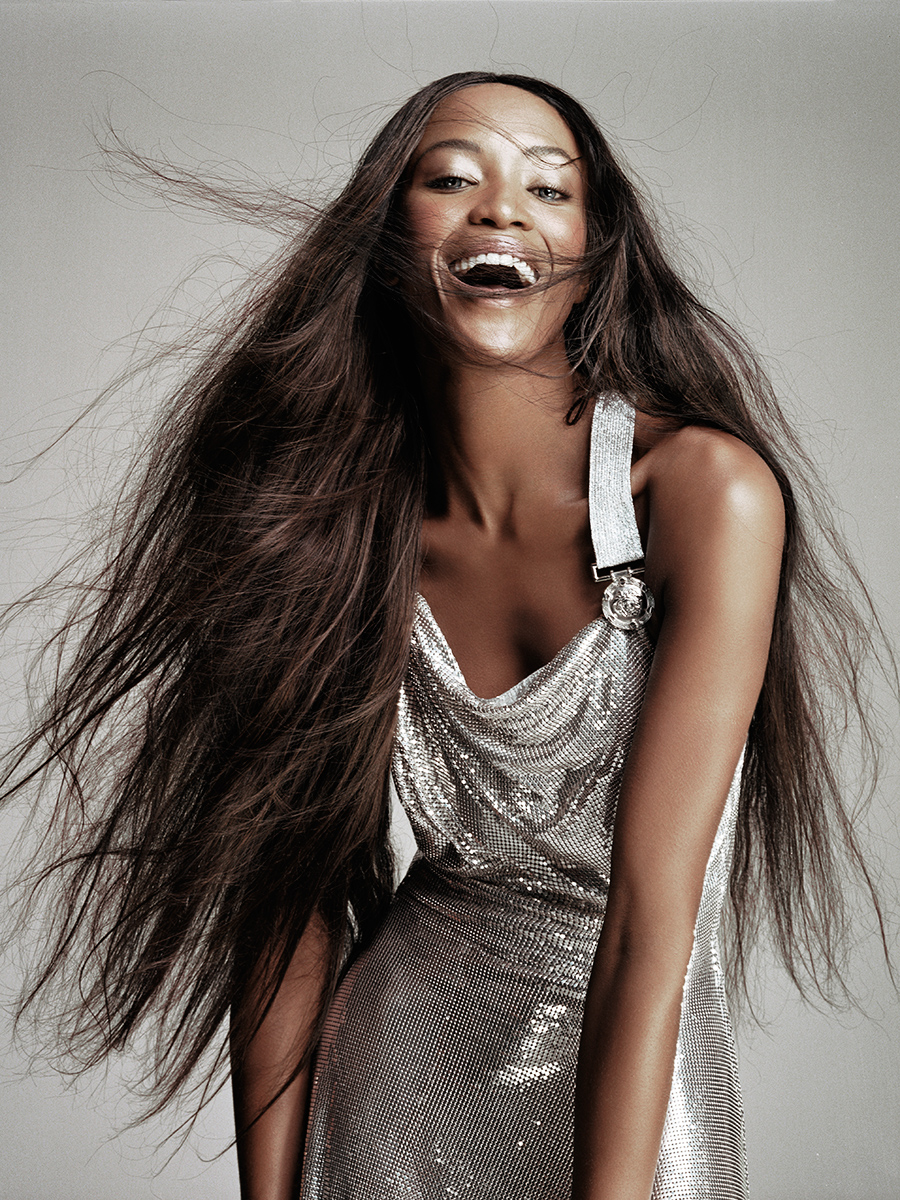 NAOMI FOR ELLE UK