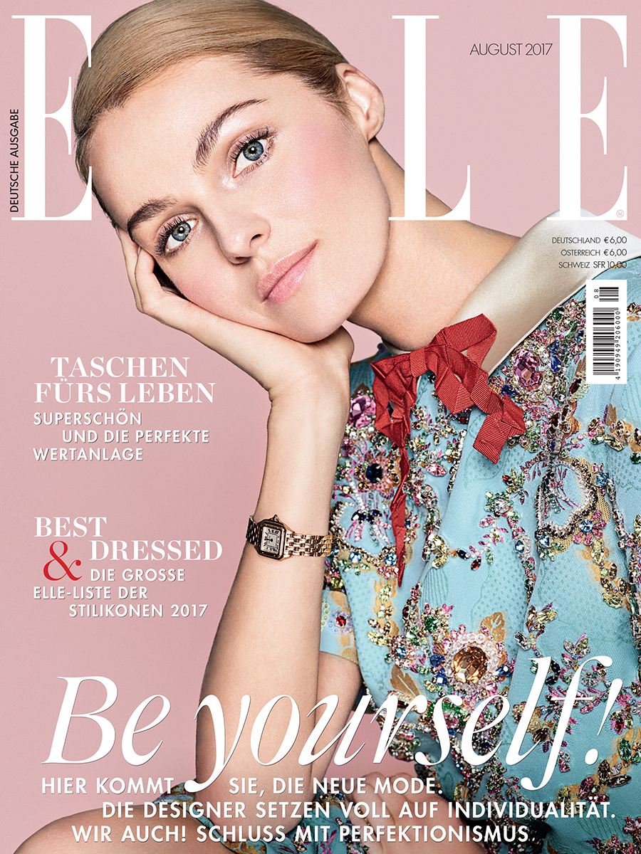 COVER STORY FOR ELLE GERMANY