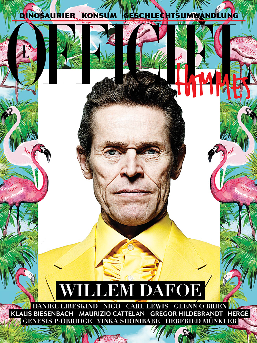WILLEM DAFOE FOR L'OFFICIEL GERMANY