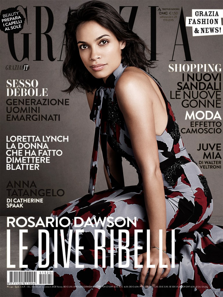ROSARIO DAWSON FOR GRAZIA