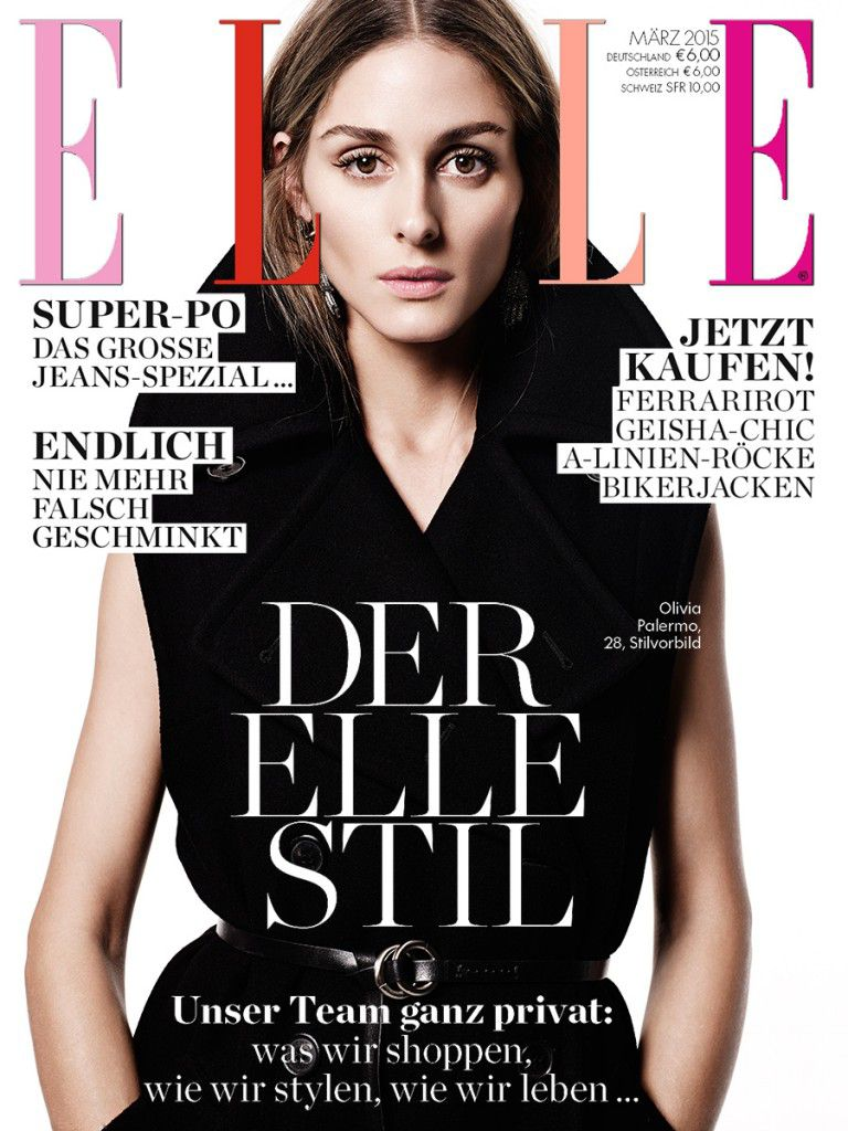 OLIVIA PALERMO FOR ELLE GERMANY