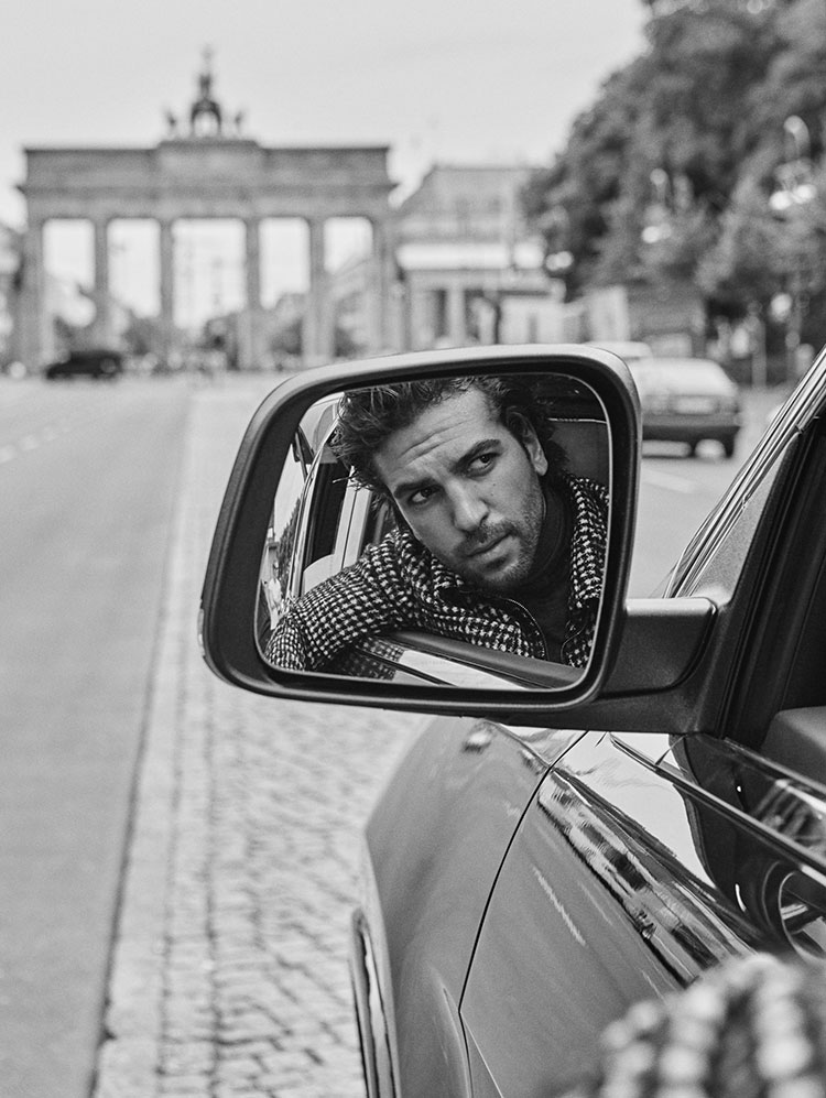 ELYAS M'BAREK FOR GQ GERMANY