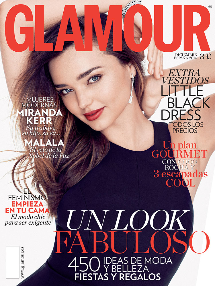 MIRANDA KERR FOR GLAMOUR