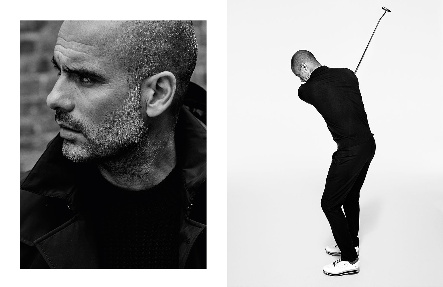 PEP GUARDIOLA FOR GQ SPAIN