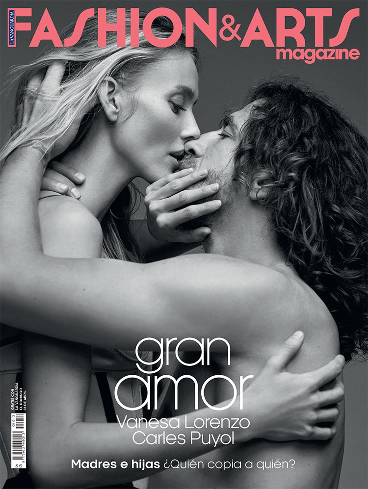 CARLES PUYOL & VANESSA LORENZO FOR FASHION & ARTS